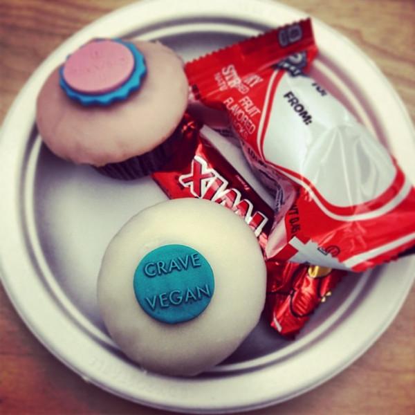 "My first vegan cupcake. #LifeAtPROS #Valentines via Instagram <a href=""http://ift.tt/1bvQzBH"">http://ift.tt/1bvQzBH</a>"