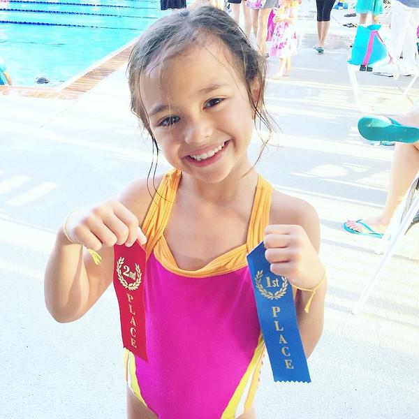 """1st swim meet complete! via Instagram <a href=""""http://ift.tt/1txiHyw"""">http://ift.tt/1txiHyw</a>"""