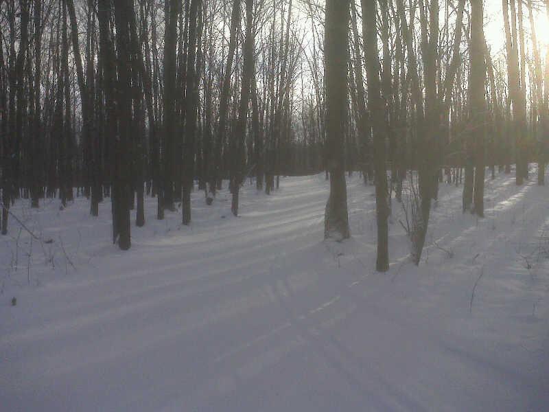 Early ski @ Hanson Hills