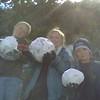 Snowballs at SongDog Ranch, 14 Feb 2009
