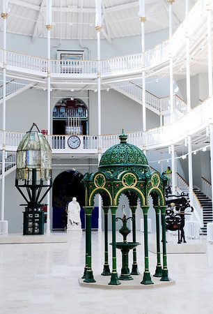 NATIONAL MUSEUMS SCOTLAND : National Museum of Scotland,Grand Gallery