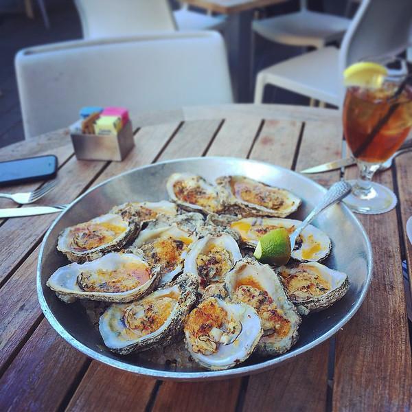 """Wood fired oyster lunch via Instagram <a href=""""http://ift.tt/1qwm0x3"""">http://ift.tt/1qwm0x3</a>"""