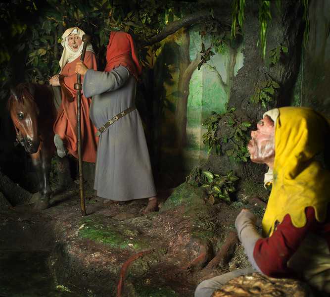 CONTINUUM: The Wife of Bath & Harry Bailey, Canterbury Tales, Canterbury