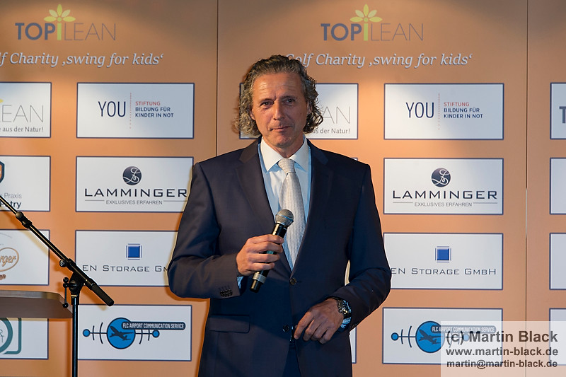 19. Topilean Golf Charity Swing for Kids an 01.05.16 in Heidelberg im Crowne Plaza