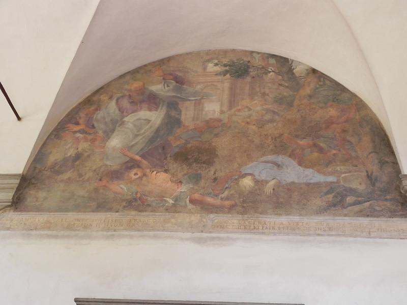 Brancacci Exterior Fresco