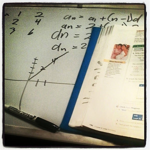 Helping with homework via a whiteboard. #mathbaby via Instagram http://ift.tt/1mzddbs
