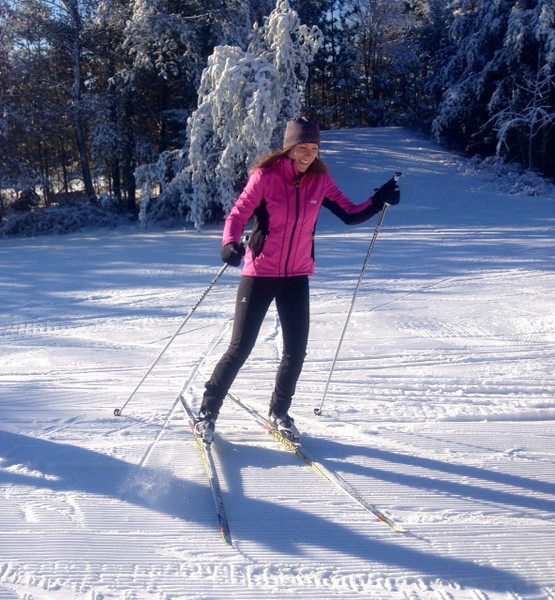 Mariah Frye November 29, 2013 Cross Country Ski Headquarters Thankful for snow!