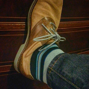 Can an old man like myself pull off these colorful socks? via Instagram http://instagram.com/p/gSzJgQmFNM/
