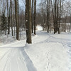 Michaywe' Lake Trail 1/10/11 - located 3 miles south of Gaylord, MI.