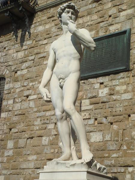 David in Piazza della Signoria