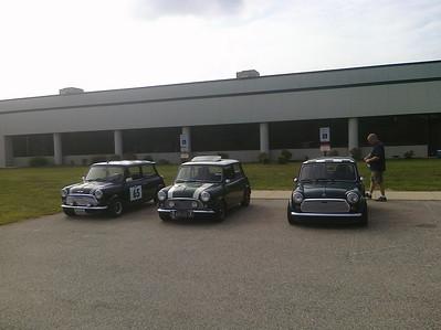 Classic Minis at Moss Motors in Petersburg, VA