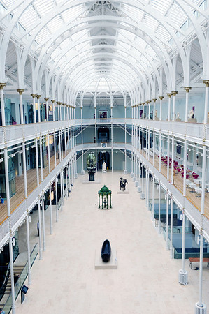 NATIONAL MUSEUMS SCOTLAND: National Museum of Scotland, Grand Gallery
