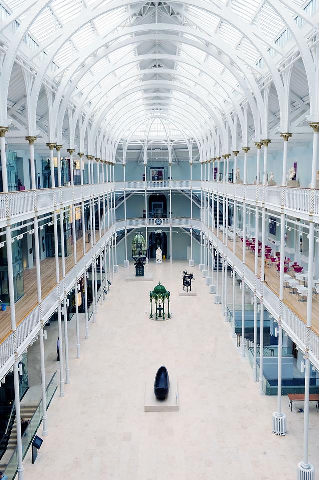 NATIONAL MUSEUMS SCOTLAND: National Museum of Scotland, Grand Gallery