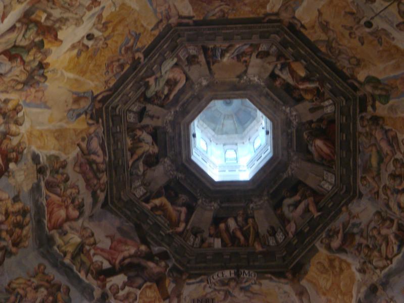 Last Judgement by Vasari in Duomo 3