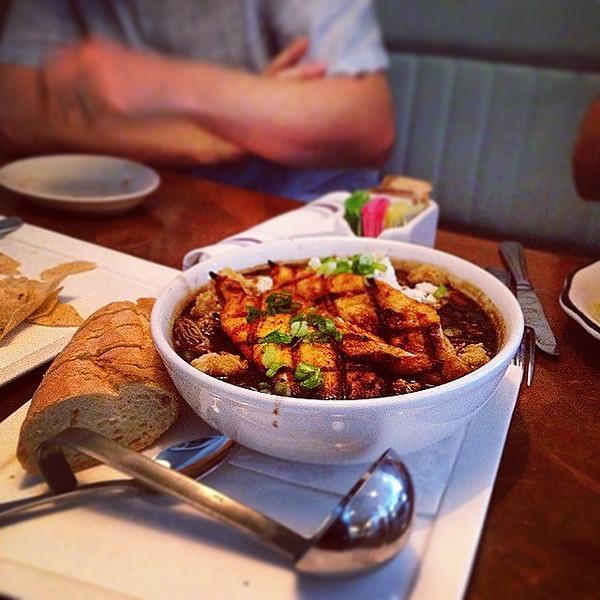 "40oz-to-freedom gumbo at Liberty Kitchen. via Instagram <a href=""http://ift.tt/1oJTbQT"">http://ift.tt/1oJTbQT</a>"