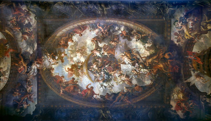 OLD ROYAL NAVAL COLLEGE, Painted Hall ceiling