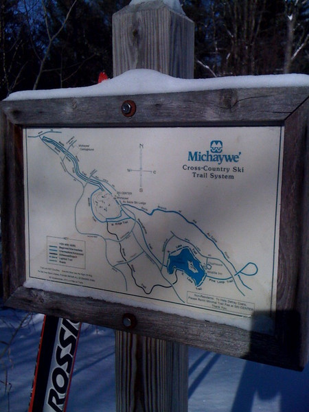 Michaywe' - Gaylord - 18.5 km groomed.