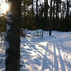 Back side of Ogemaw Hills Pathway, 12/30/2012.