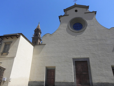 San Spirito Church on Piazza Della Palla by Brunelleschi