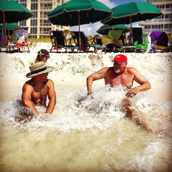 "The surf stole our shorts! via Instagram <a href=""http://ift.tt/1rT3keo"">http://ift.tt/1rT3keo</a>"