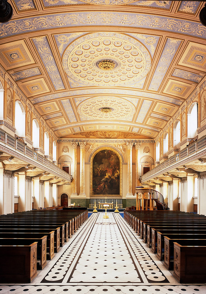 OLD ROYAL NAVAL COLLEGE, The Chapel
