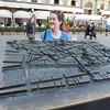 Allison in Piazza della Repubblica