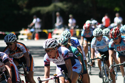 Women's cycling race