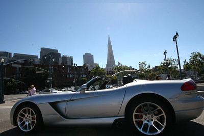 Viper parked on Embarcadero