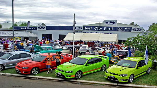 Reef City Ford run a great Ford agency here in Emerald with good stocks of both new and used vehicles backed up with a large workshop.