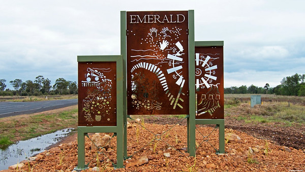 Welcome to Emerald in Queensland situated right on the Tropic of Capricorn.