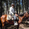 This will be a hybrid trip.  We'll ride horses 13 miles into the backcountry and then backpack to more remote locations.