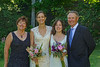 Both brides with Cami's grandparents.