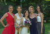 Brides with Cami's sisters.
