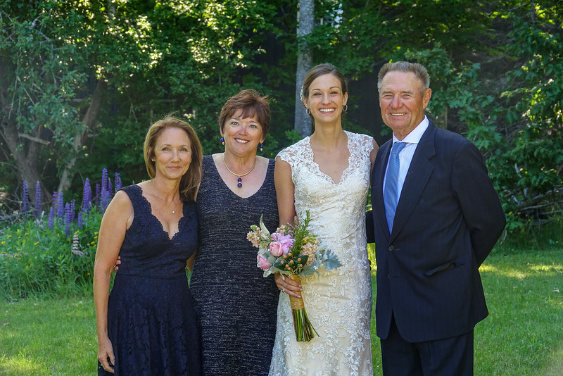 Cami with Mom and Grandma and Grandpa.