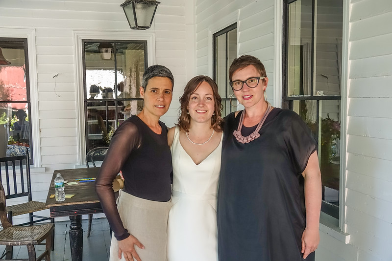 Emily with Carolyn and Darcy.