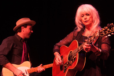 Jedd Hughes and Emmylou Harris. Photo by Candace Horgan.