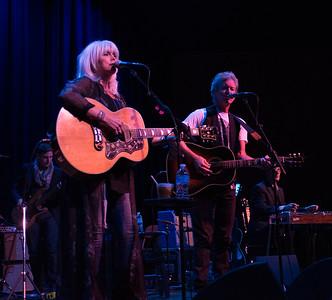 Emmylou Harris and Rodney Crowell at Chautauqua. Photo by Candace Horgan.