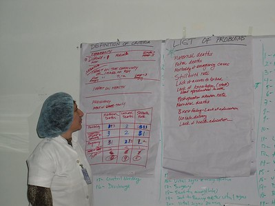 Here is the first step- Quality Assurance. We have selected our problem and are in the process of analyzing it before implementing changes. This is Pashtoon.