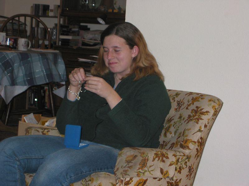 Colleen - Christmas 2002