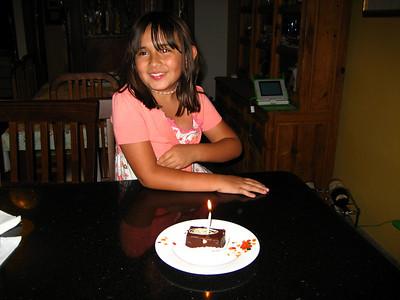 Cumpleaños 8 Valli
