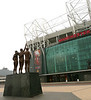 Statue outside Old Trafford