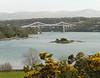 Menai Bridge from Anglesey