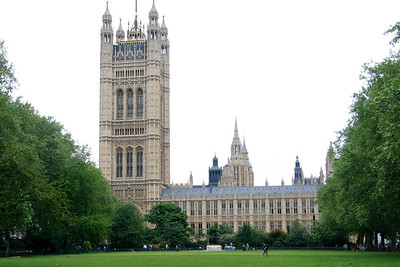 Palace of Westminster (Houses of Parliament) in London