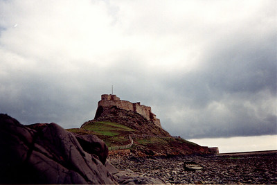 Lindisfarne Castle, England.