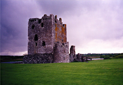 "Threave Castle...home of the ""Black Donnellys""."