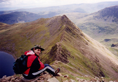 Me by Striding Edge.