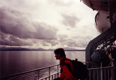 On the ferry to the isle of Mull, Scotland.