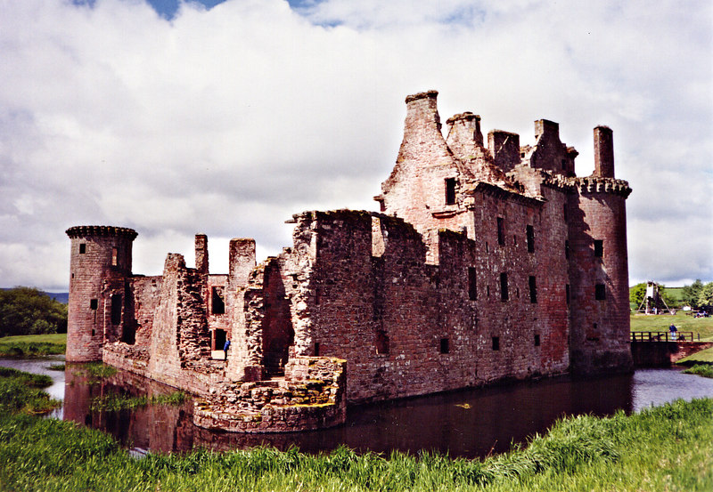 Caerlaverock Castle...seiged by Edward ( The Hammer of the Scots )the 1st.