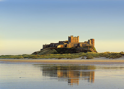 Bamburgh Castle, Northumbria.