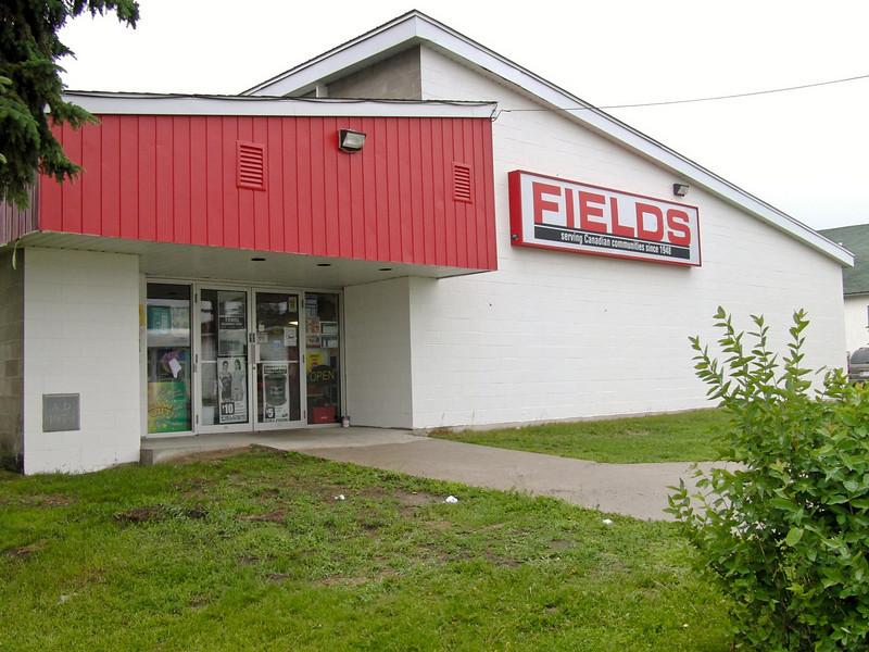 Fields Store in downtown Englehart, Ontario